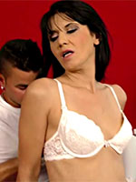 Spanish MILF Gracia With A Young Stud